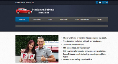 Blacktown Driving Instructor